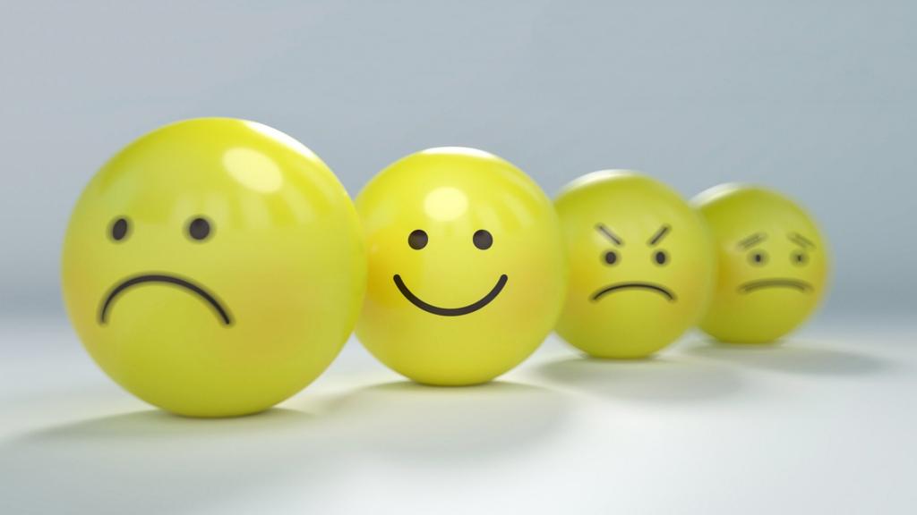 4つの表情