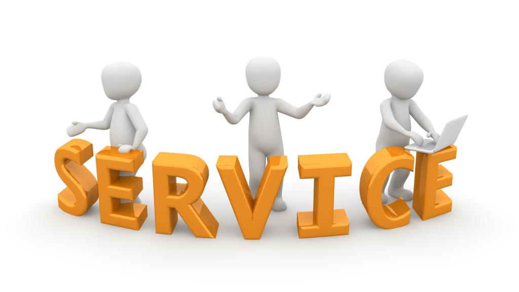 サービス提供の画像