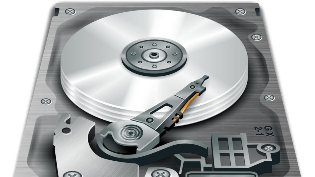 HDDの内部画像